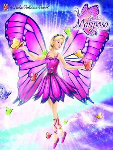 芭比彩虹仙子之魔法彩虹图片高清图片